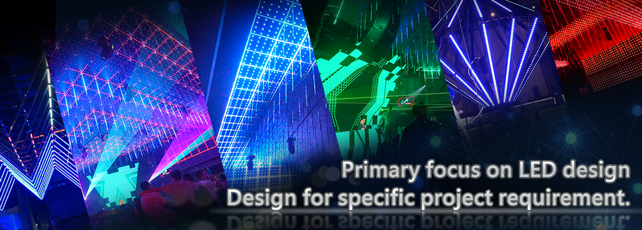 Primary focus on LED design.